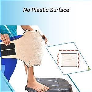 No Plastic Surface Heating Pad