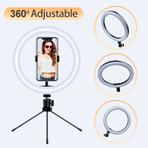 Ring light 360° Adjustable