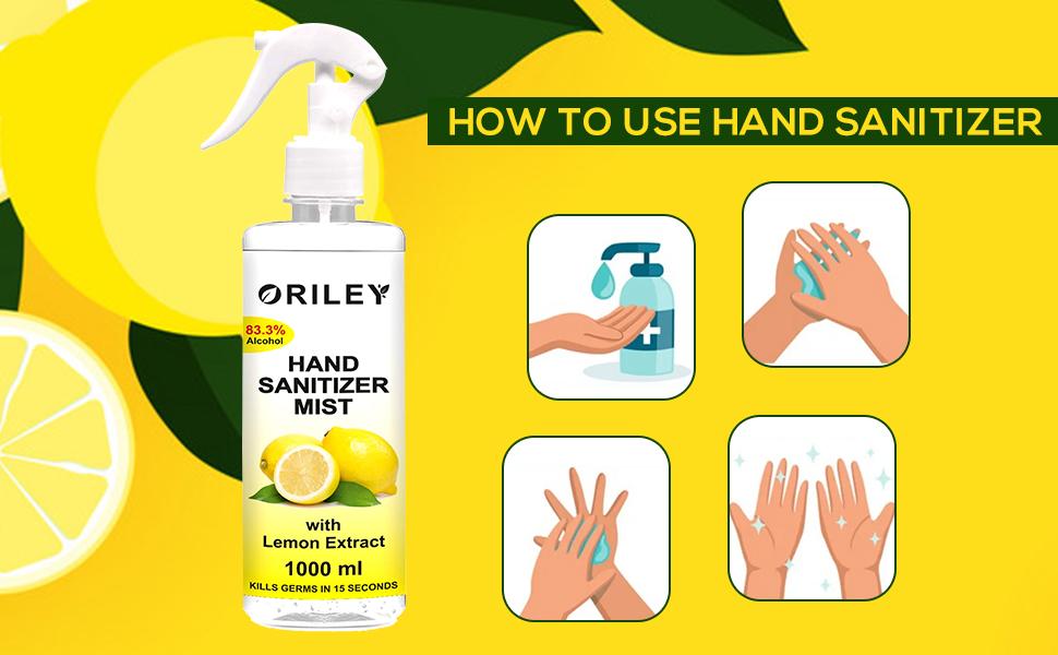 Hand Sanitizer Mist
