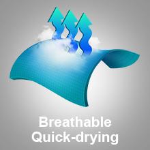 Regatta Chaska Lightweight Water Repellent UV Protection Active Hiking Ba/ñador Mujer