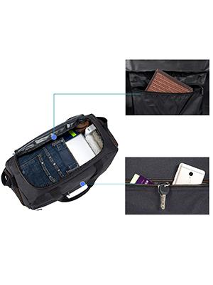 Large Zipper Compartment