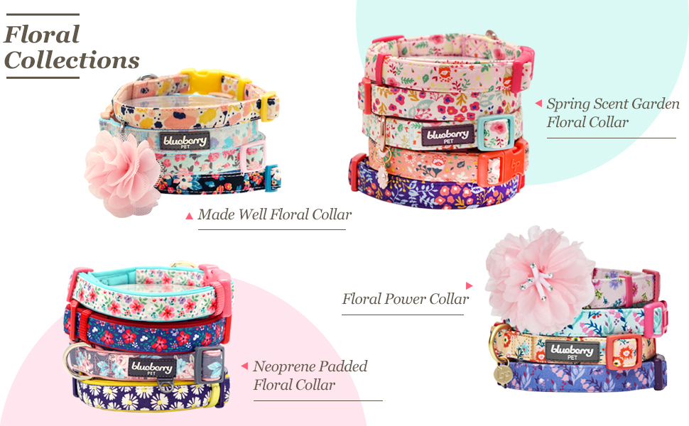 floral collar other designs