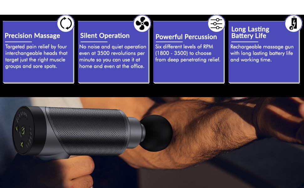 simple In use massage gun