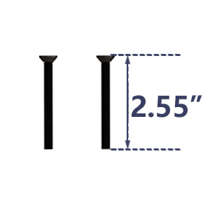 "Heavy Duty 22"" Extra Long Pull and Flush Barn Door Handle Set, Ergonomic Modern Design,"
