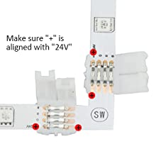 L-shape connnectors for Corners