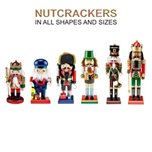 nutcrackers sizes and shapes