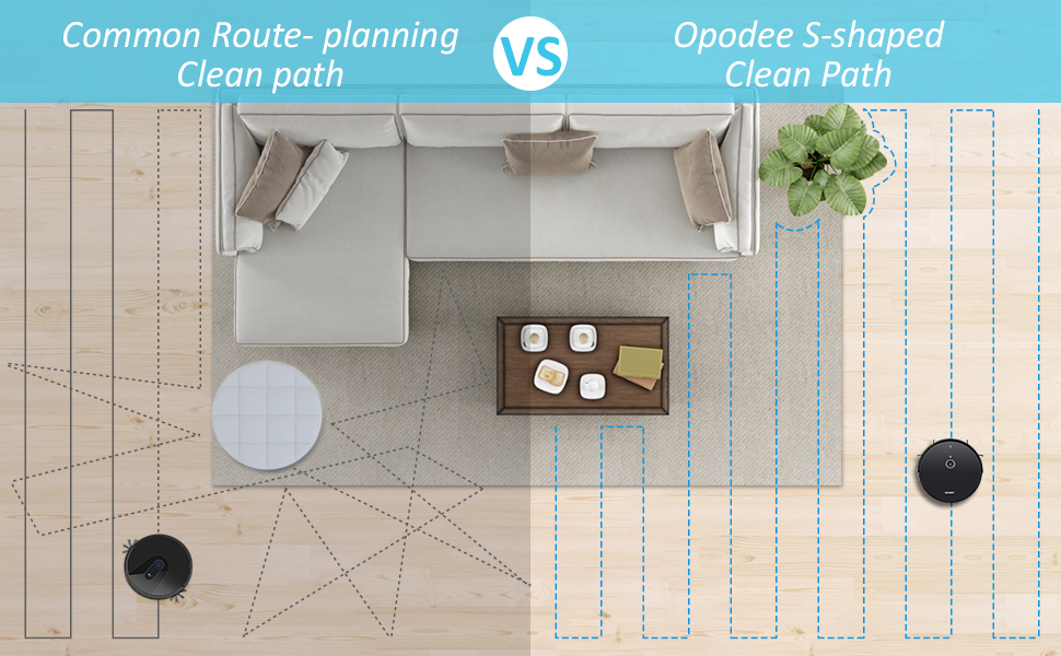 smart route planning cleaning path special design smart home cleaner smart robot