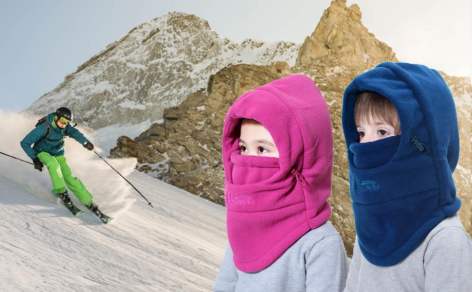 Miracu Children's Lightweight Balaclava Winter Hat