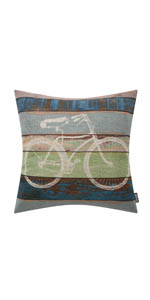 Trendin Bicycle Pillow Cover