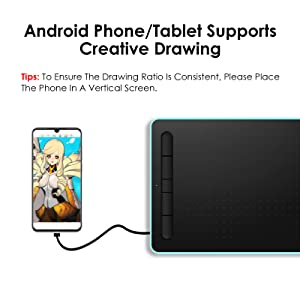 Graphic Drawing Tablet 10 x 6 Inch Large Drawing Tablet
