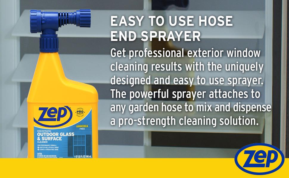 easy to use hose end sprayer