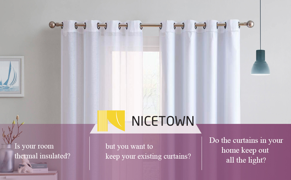blackout curtain liners