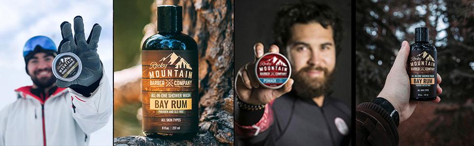 Body Wash Rocky Mountain Barber