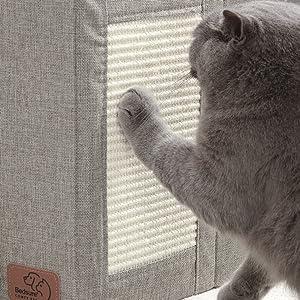 bedsure | cat scratcher & 2 in 1 cat bed