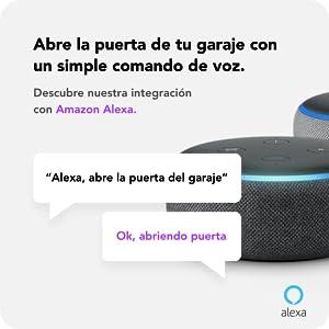 Abrir puerta con Alexa