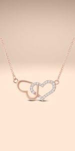 UPSERA Infinity Heart Necklace