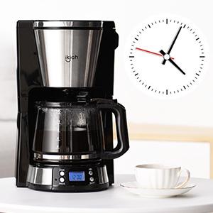 IKICH cafetera de Filtro, 1000W Máquina de café Cafetera Goteo ...