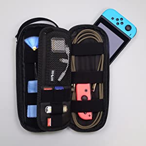 SIDE BY POWER PACKER Premium Travel Tech Pouch Organizer Electronics Cord Case Cables EDC Gear Bag