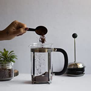 InstaCuppa French Press Coffee Maker How To Use Step 1