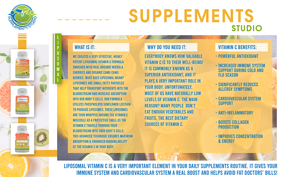supplements studio