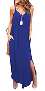 Summer Cami Maxi Dress