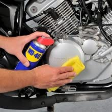 Removes Grease, Oil and Rust from Motorcycle Engine