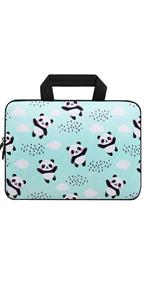 Panda Laptop Sleeve Bag