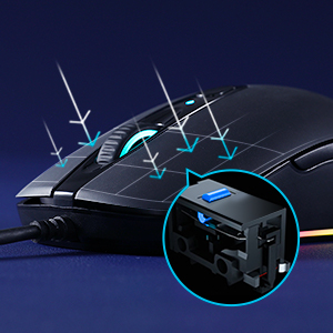pc gaming mouse