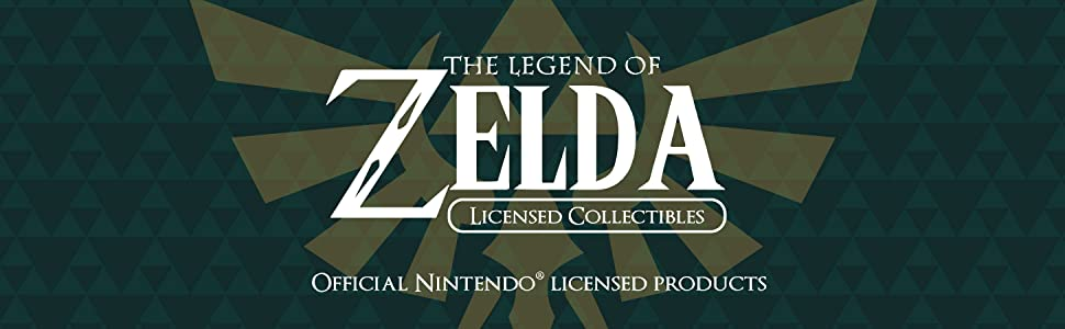 The Legend of Zelda Licensed Collectibles - Official Nintendo Licensed Products