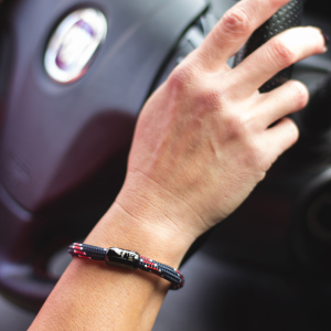 These magnetic bracelets are handmade