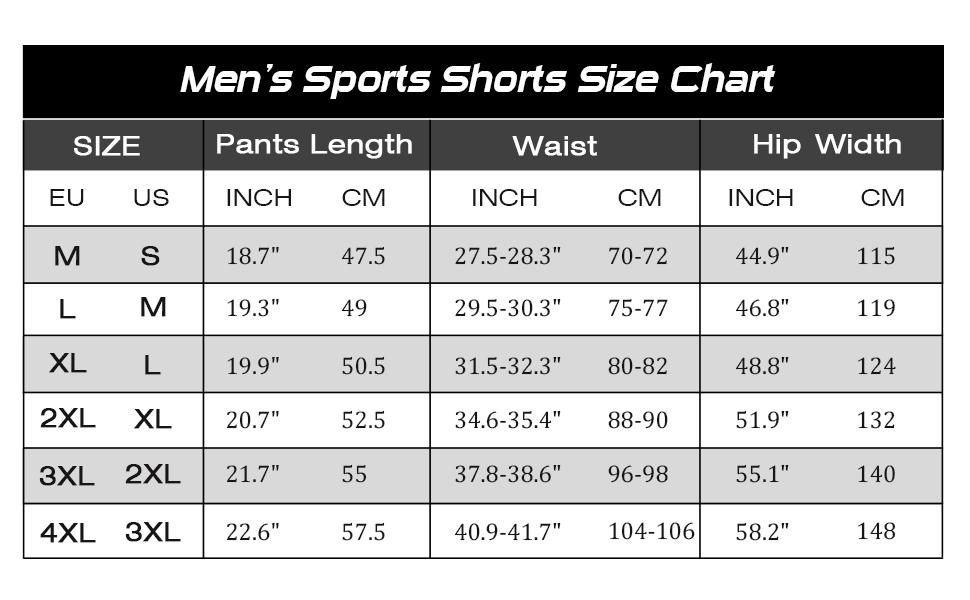 shorts sport herren