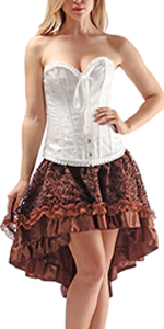Brown Matching skirt