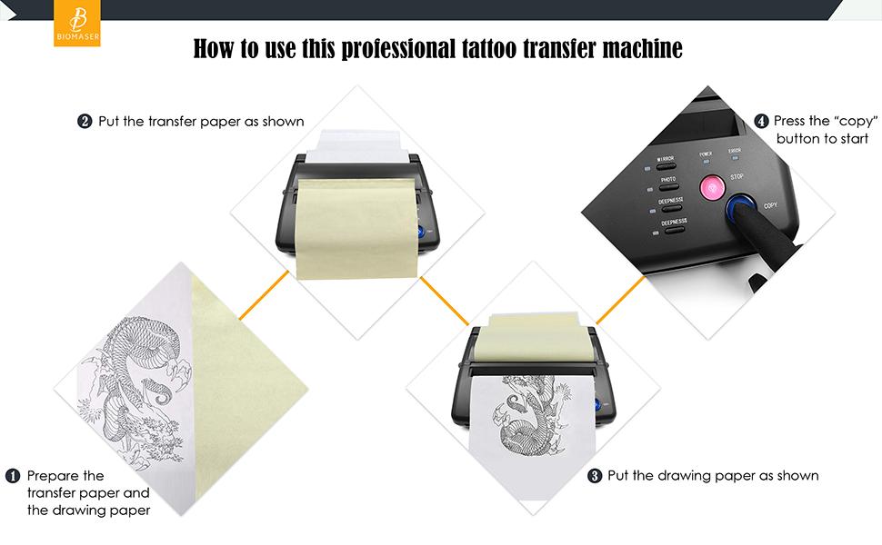 TATTOO TRANSFER MACHINE