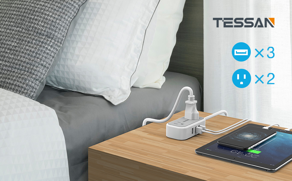 tessan travel power strip1