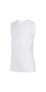 Youth Padded football vest white