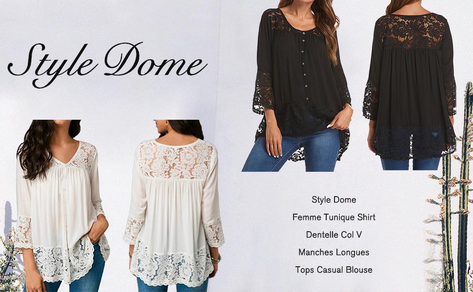 Haut Femmes Taille 56 58 60 62 grande taille Grande Taille Tunique Blouses T Shirt 72