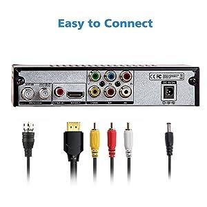 Five Star ATSC HD Digital Converter Box