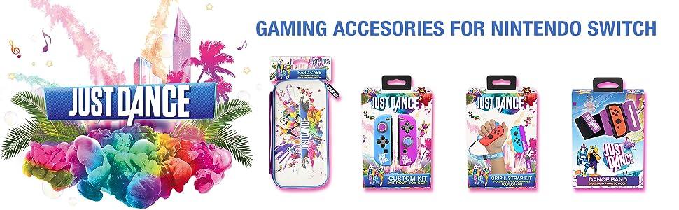 just dance;gaming;nintendo;switch;joycon;joy con;accessories;wristband;wrist;band;armband;2020;20;19