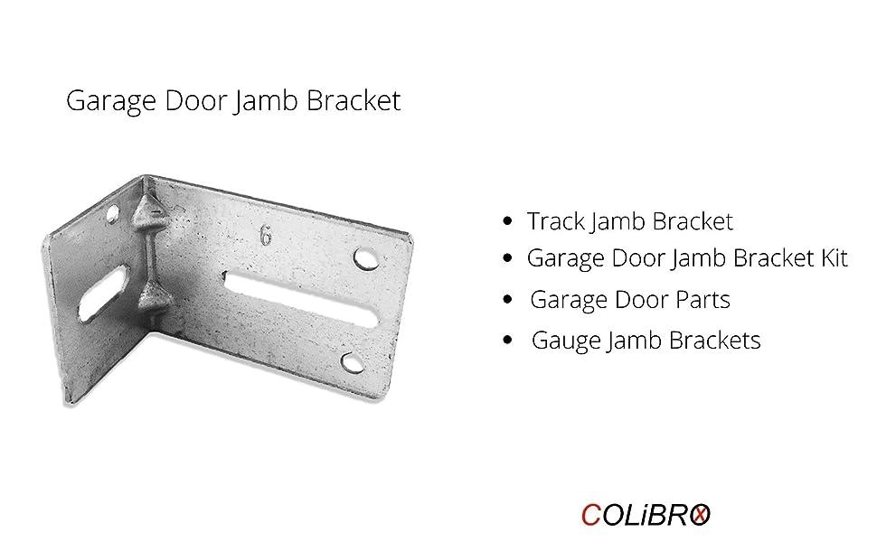Garage Door Jamb Bracket Track Jamb Bracket Garage Door Jamb Bracket Kit  Garage Door Parts Gauge