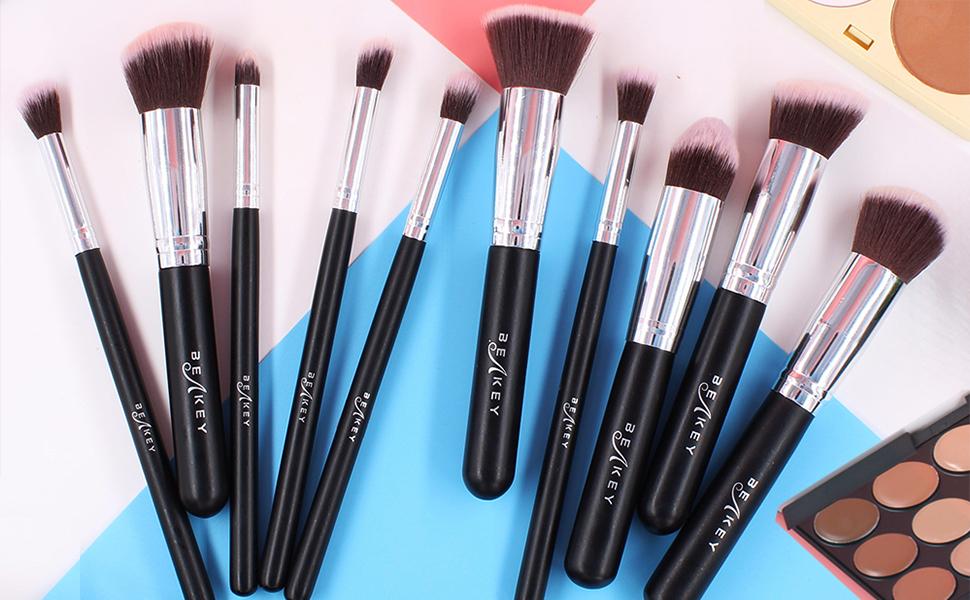 10pcs Makeup Brushes