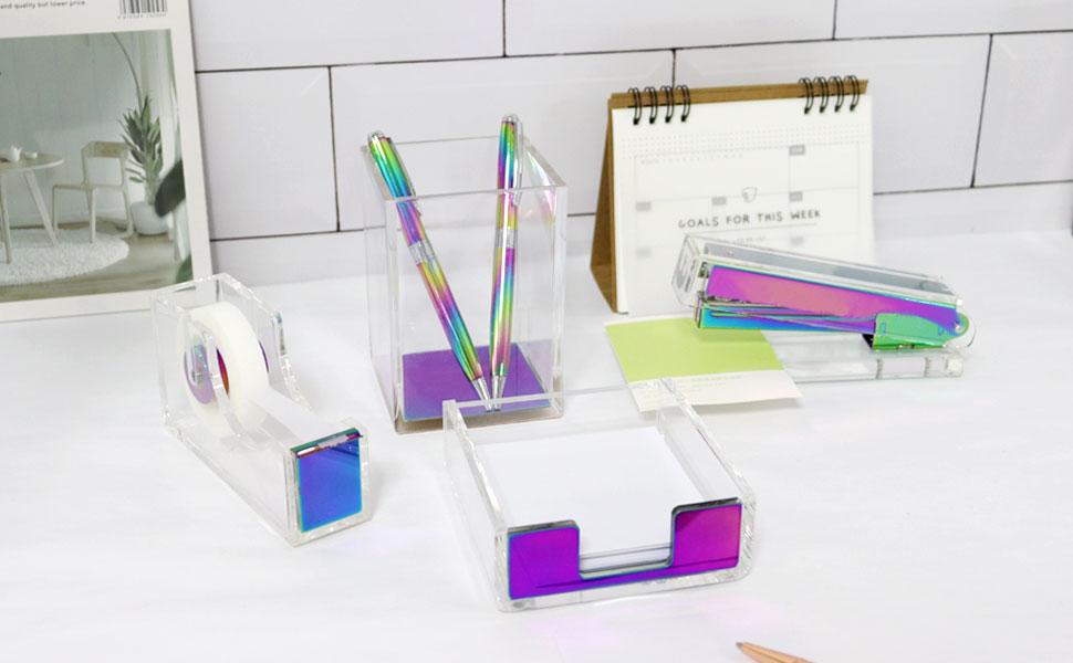 desktop accessories office school supplies desk kit stationery