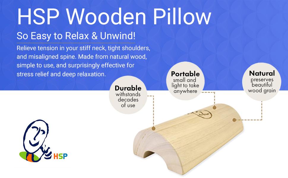wooden pillow, pillow wood, wooden pillow for neck, neck wooden pillow