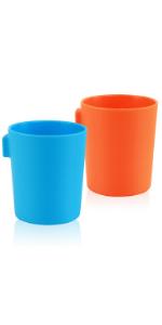 Magnetic plastic cups