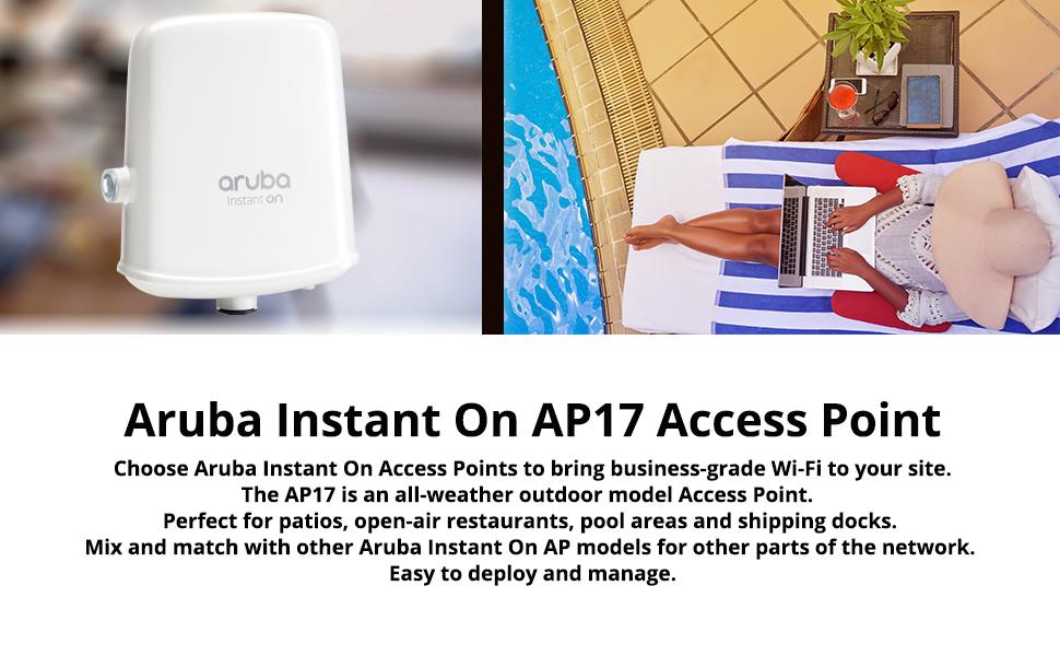 Aruba Instant On AP17 Wireless Access Point