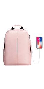 pink girl backpack