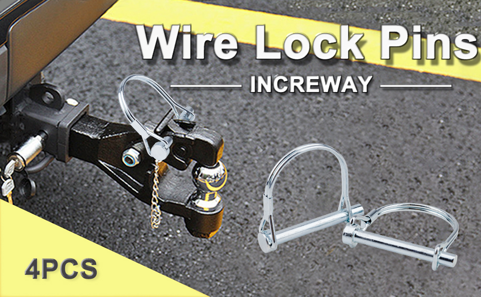 wire lock pin, safety lock pin