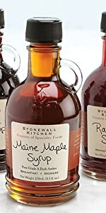 Stonewall Kitchen 3 Piece Syrup Collection Gift Holiday