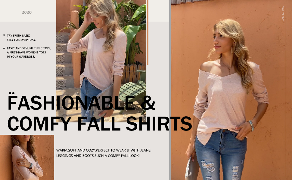 womens long sleeve tops