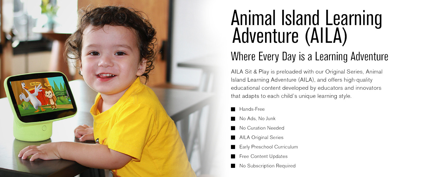 Animal Island Learning Adventure AILA Preschool Toddler