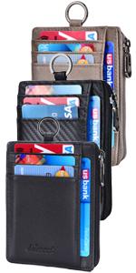 Zipper Card Holder Lanyard